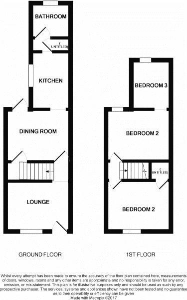 3 bed house to rent in Brisbane Road - Property Floorplan