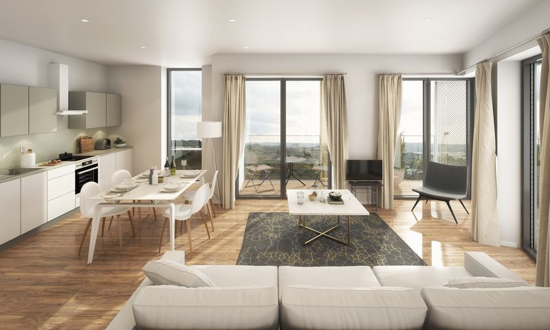 3 bed flat for sale in Pier Approach Road 1