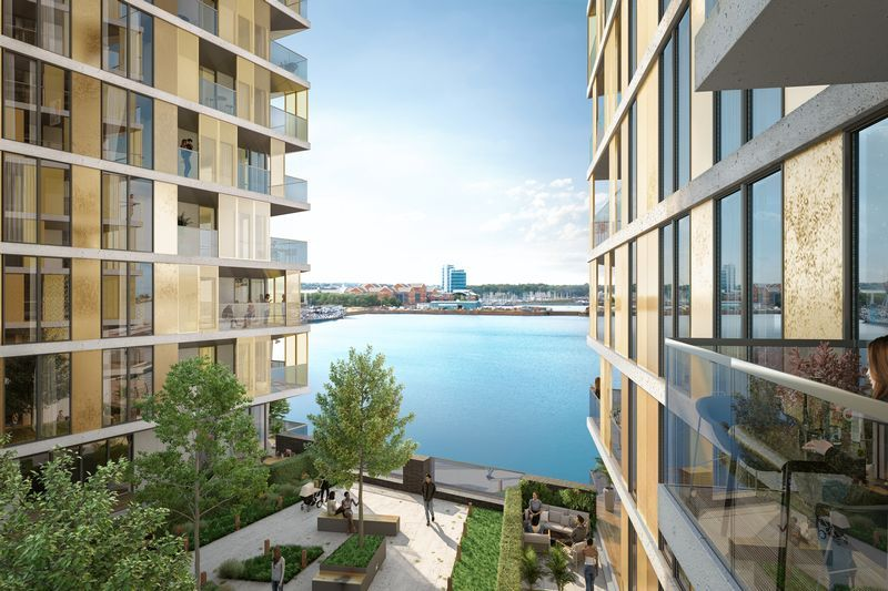 1 bed flat for sale in Pier Approach Road