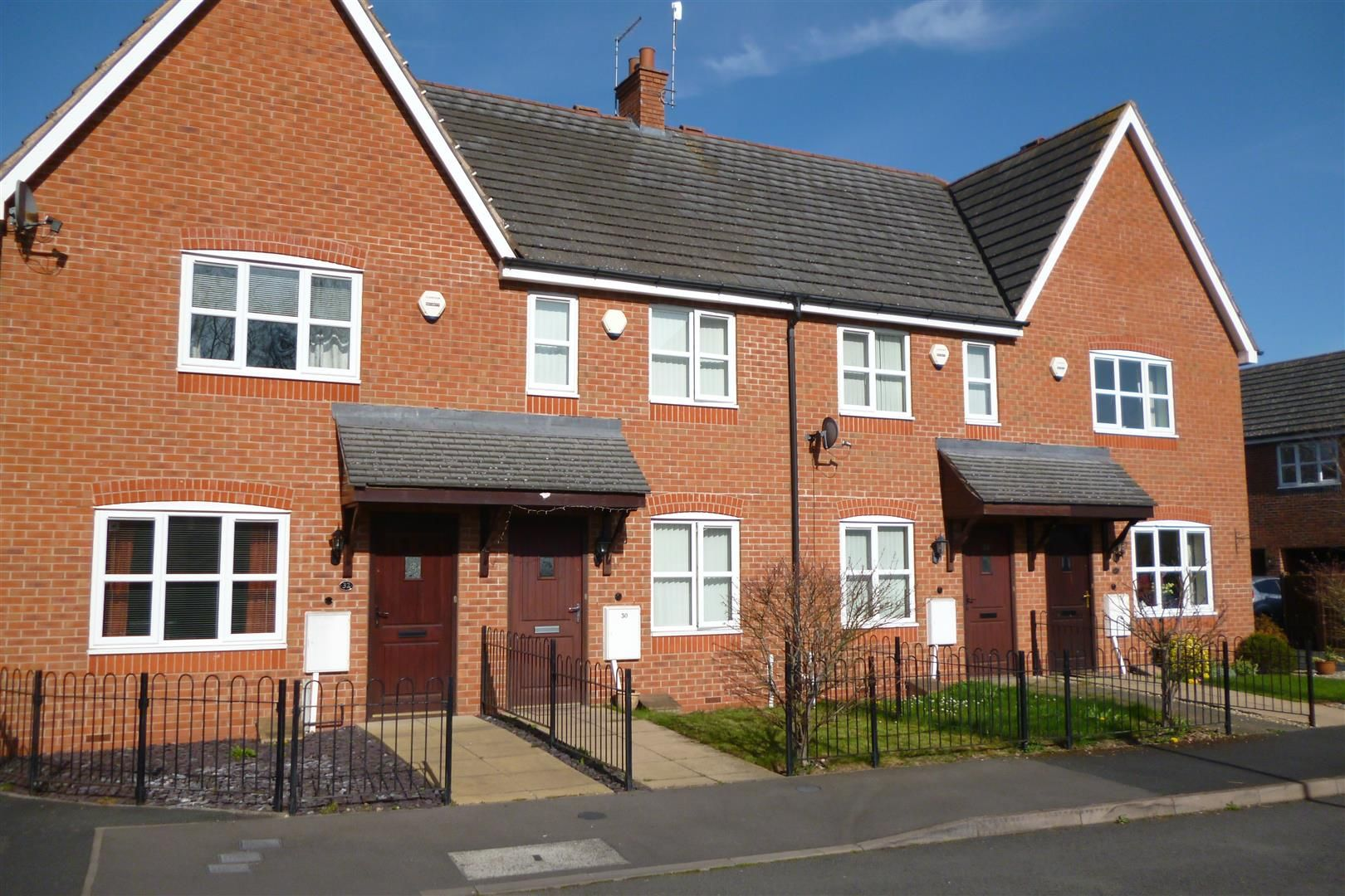 2 bed terraced for sale, WR9