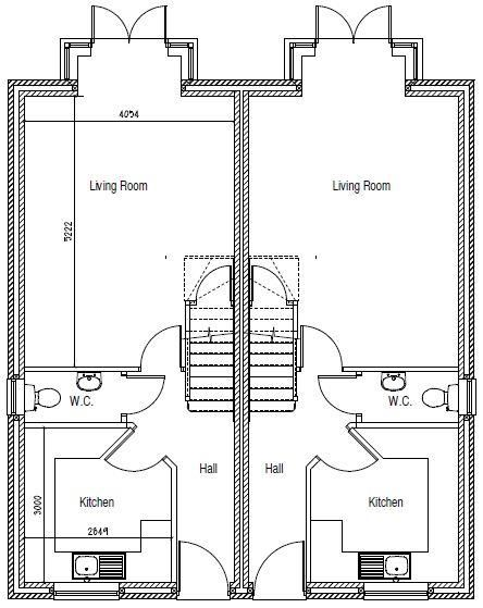 3 bed semi-detached for sale in Netherton - Property Floorplan