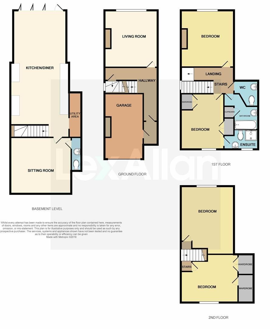 2 bed semi-detached for sale in Old Quarter - Property Floorplan