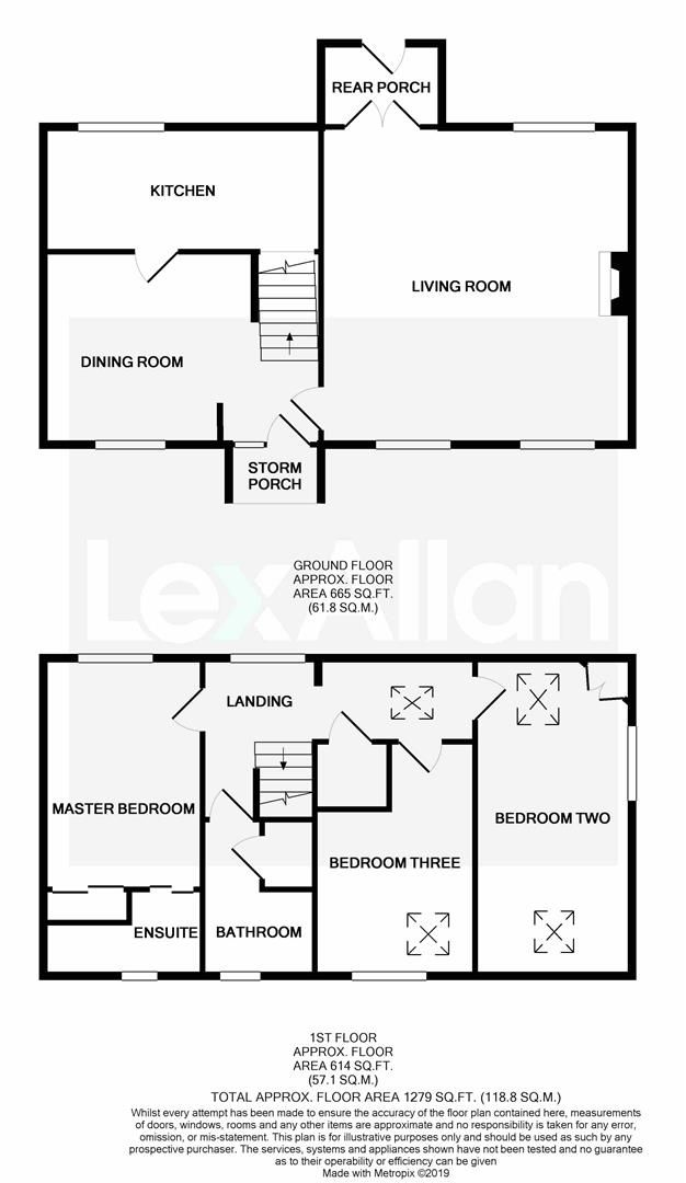 3 bed barn-conversion for sale in Hagley - Property Floorplan