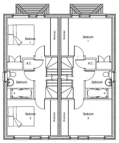 3 bed semi-detached for sale in Netherton - Property Floorplan