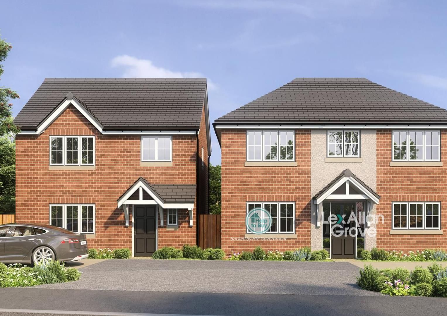 3 bed detached for sale, B63
