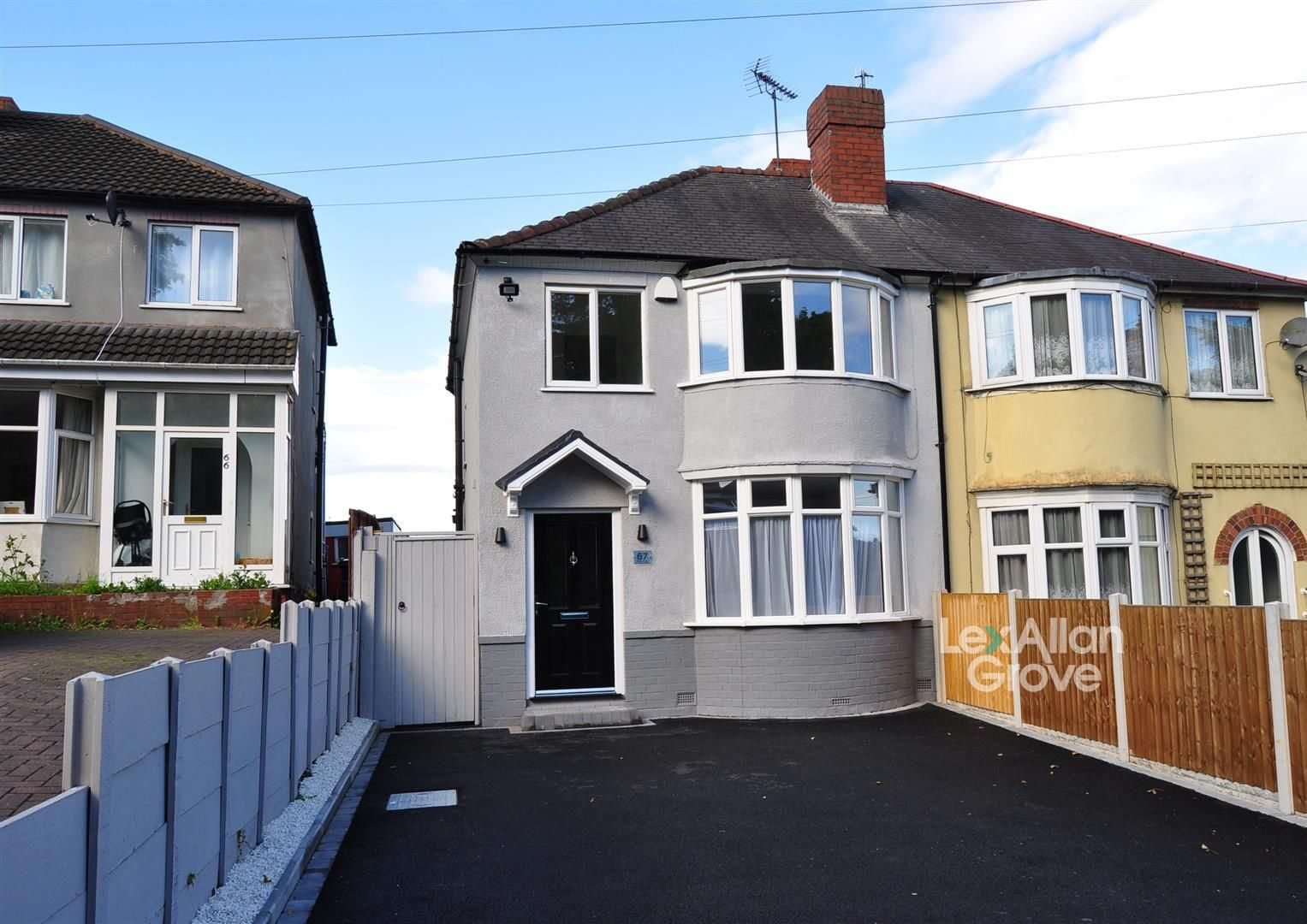 3 bed semi-detached for sale, B65
