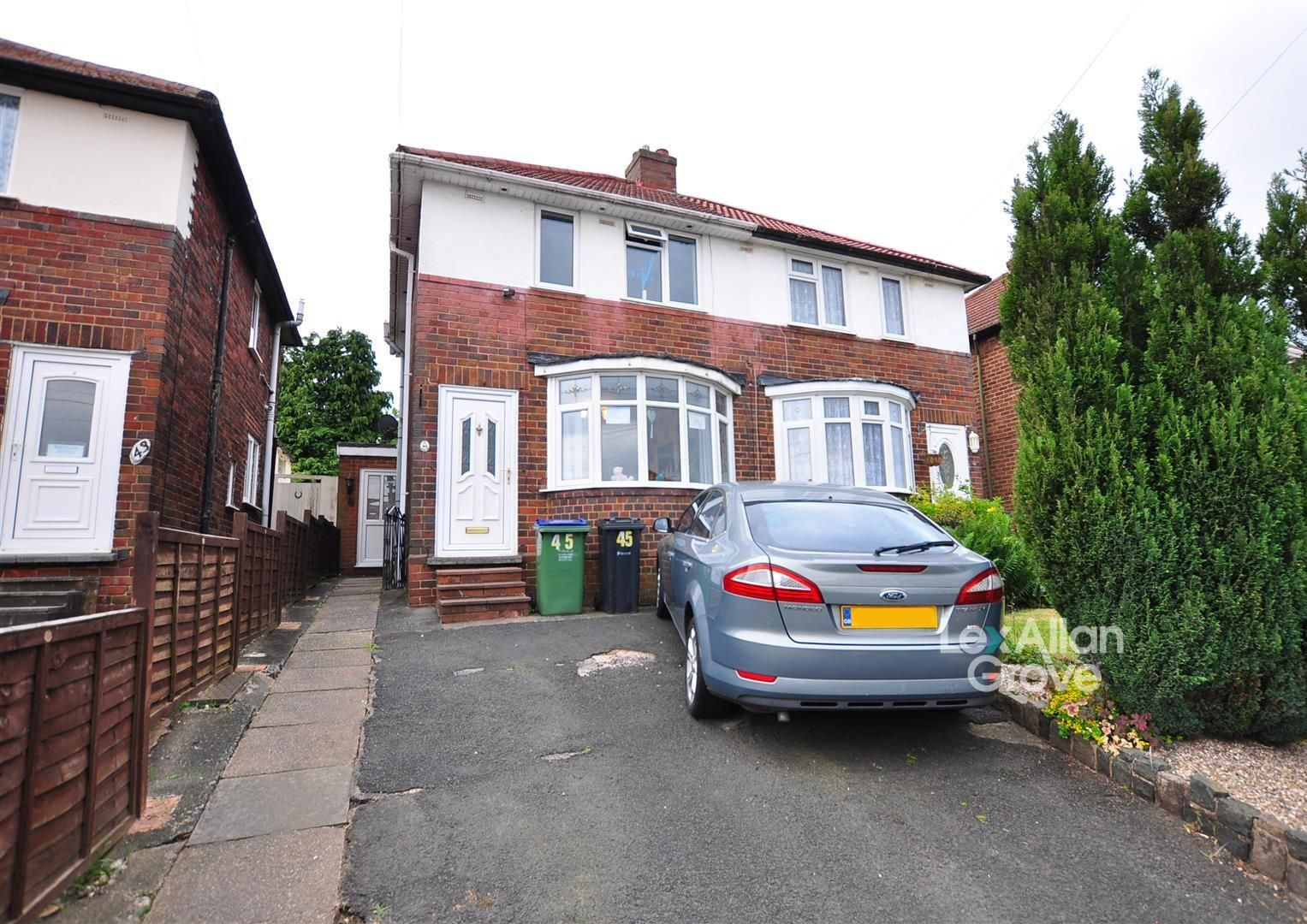 2 bed semi-detached for sale in Tividale, B69
