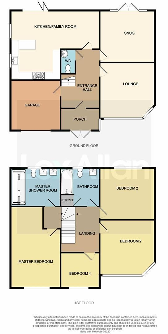 4 bed detached for sale in Norton - Property Floorplan