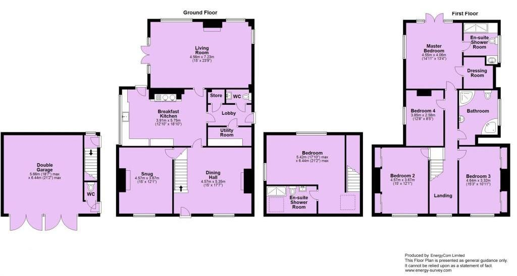 5 bed detached for sale in Broome - Property Floorplan