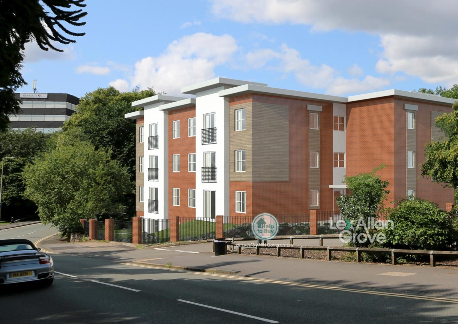 2 bed apartment for sale, B63