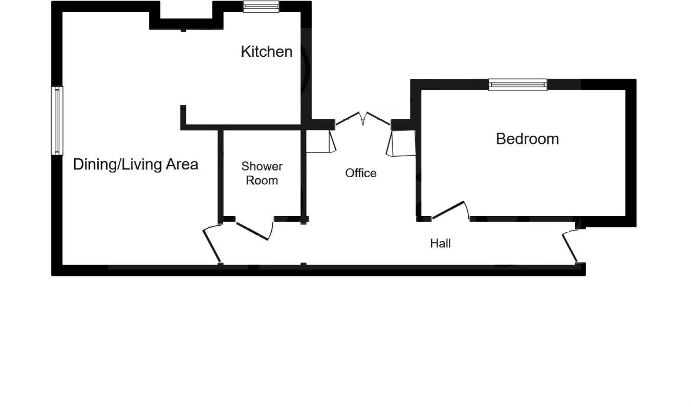 1 bed apartment for sale in Clent - Property Floorplan