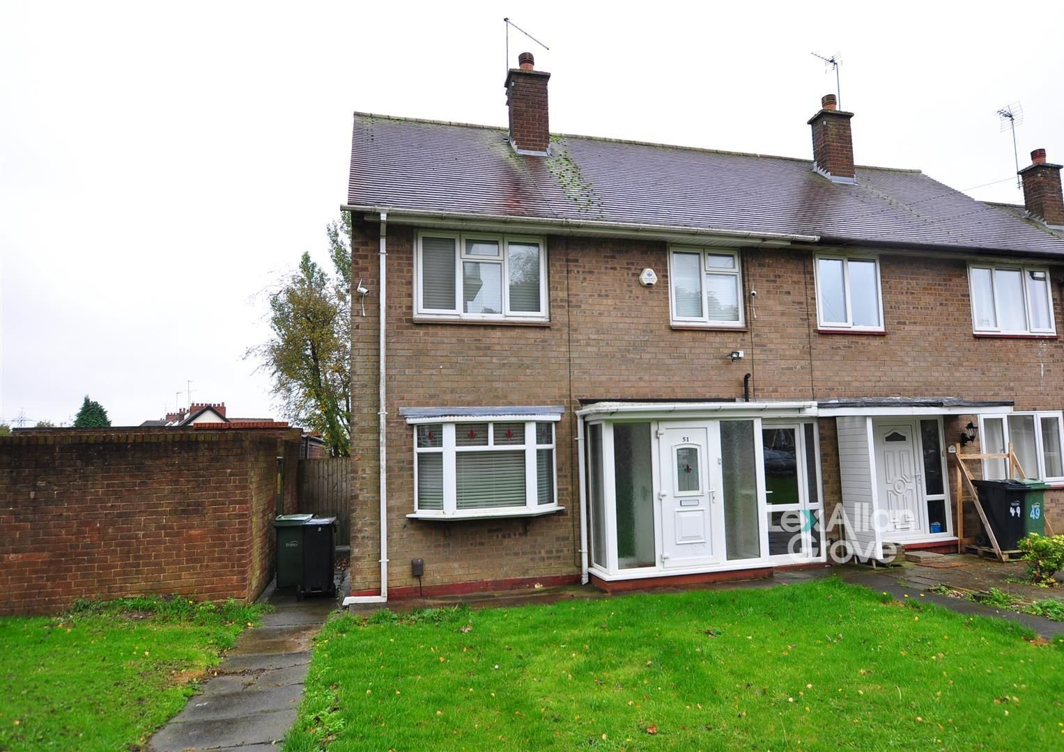 3 bed end-of-terrace for sale, B62