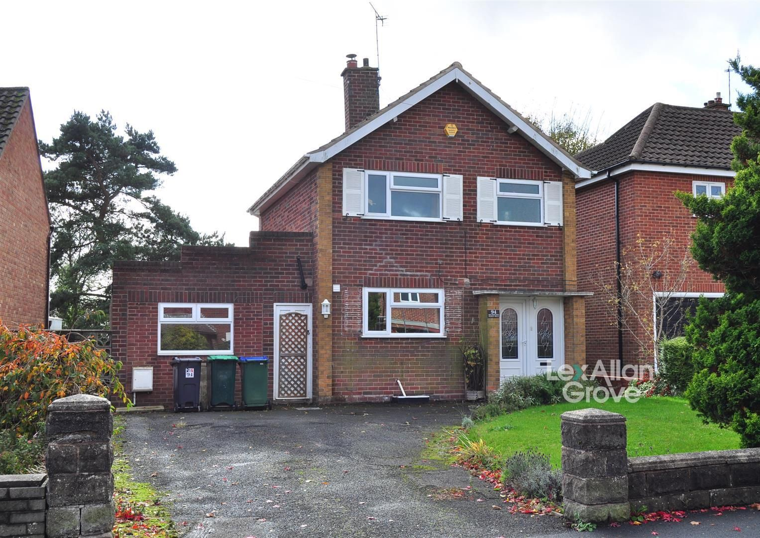 3 bed detached for sale, B64