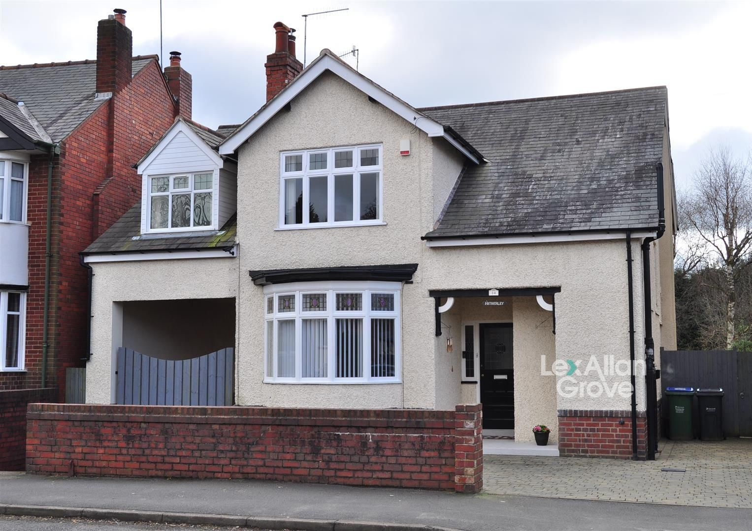 4 bed detached for sale, B64