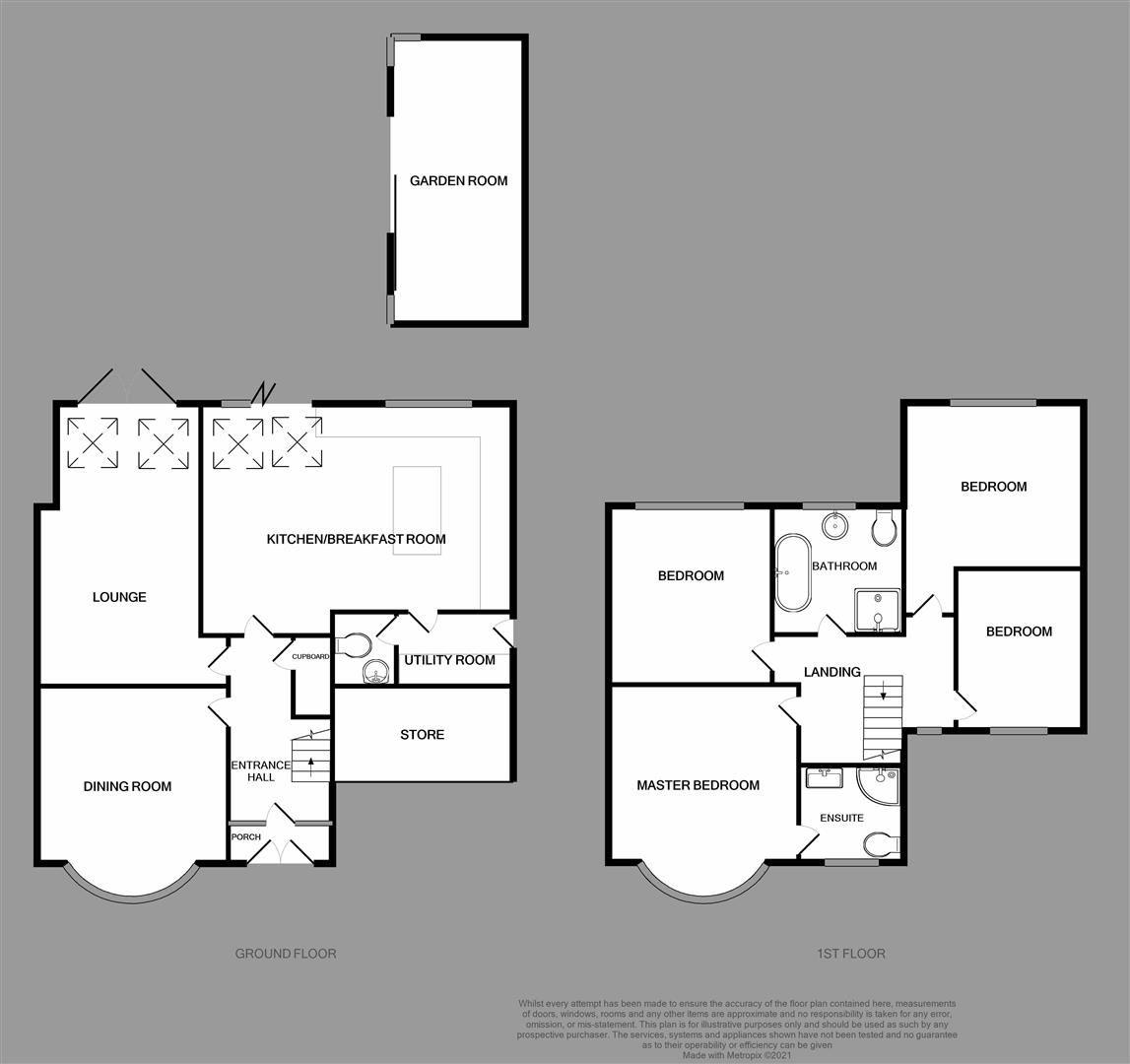 4 bed semi-detached for sale - Property Floorplan