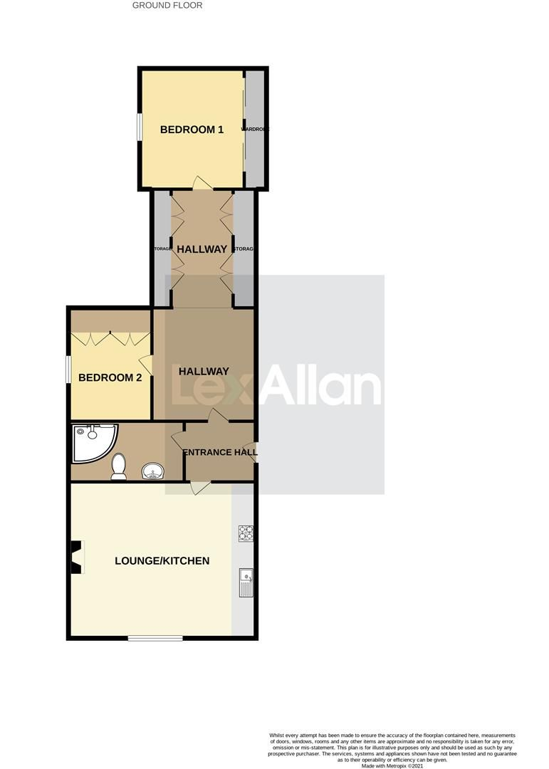 2 bed apartment for sale in Swindon - Property Floorplan