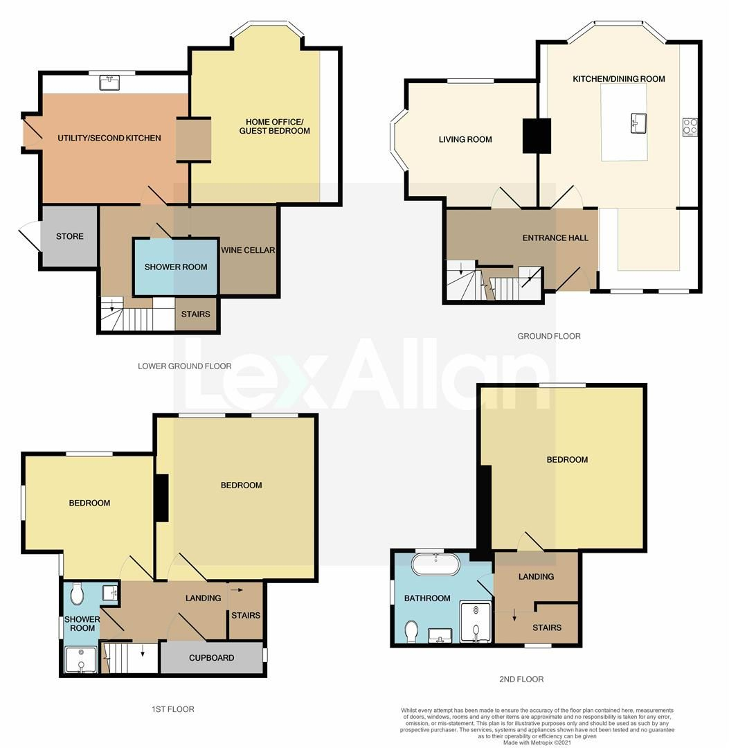 4 bed house for sale in Kinver - Property Floorplan