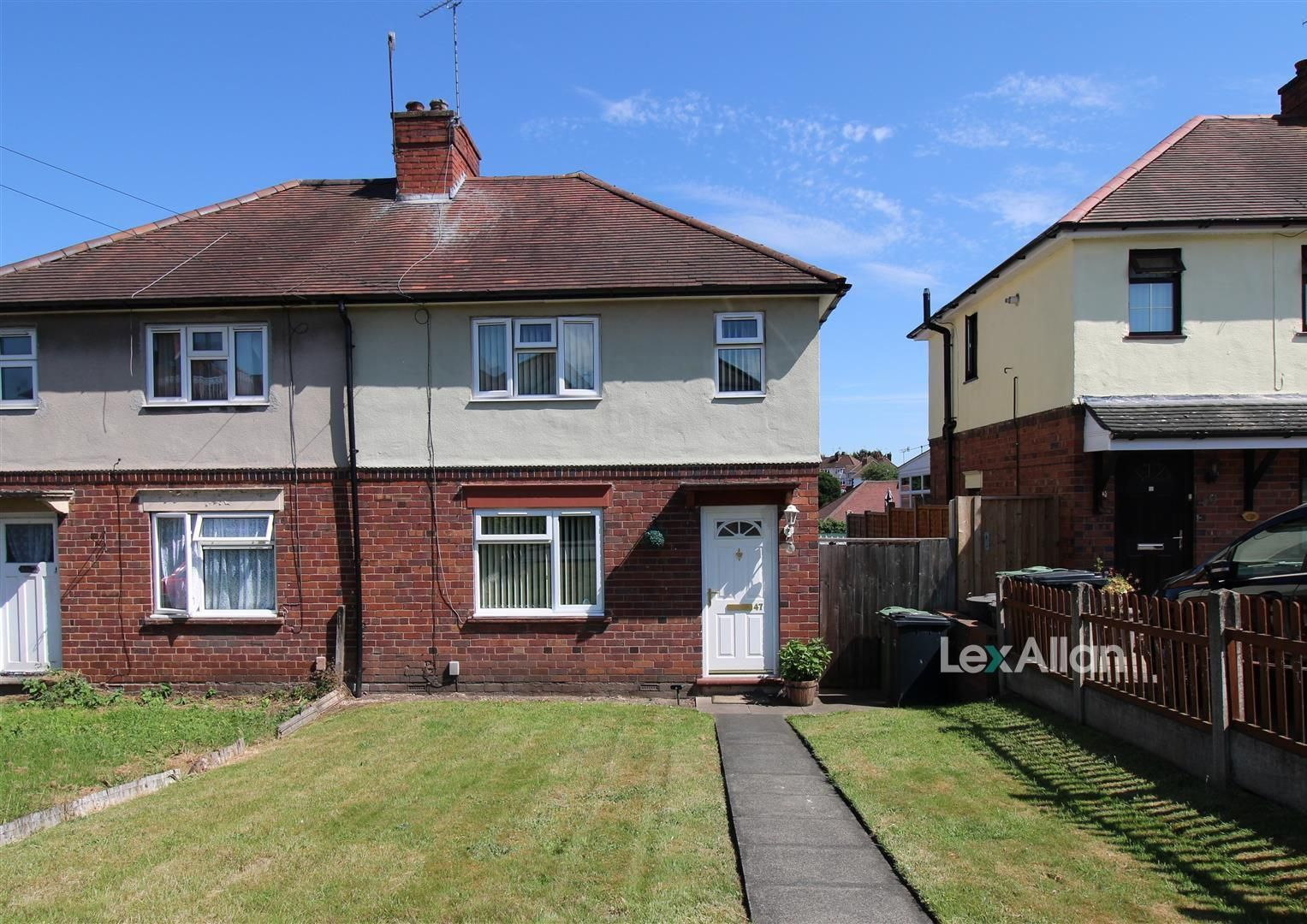 2 bed semi-detached for sale in Wordsley, DY8