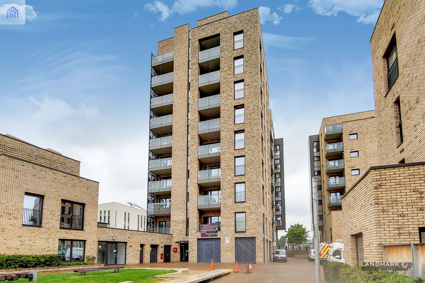 1 bed flat for sale in Mogul Building, E15
