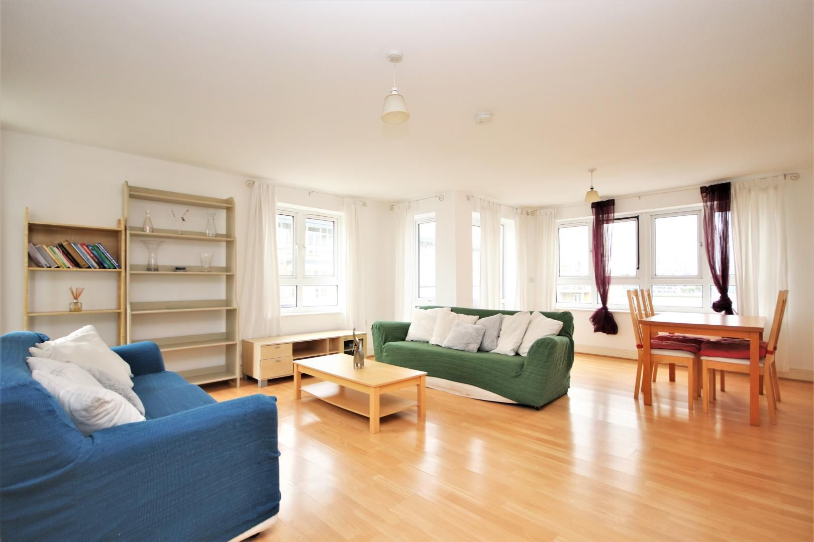 3 bed flat to rent in Hamilton House  - Property Image 4