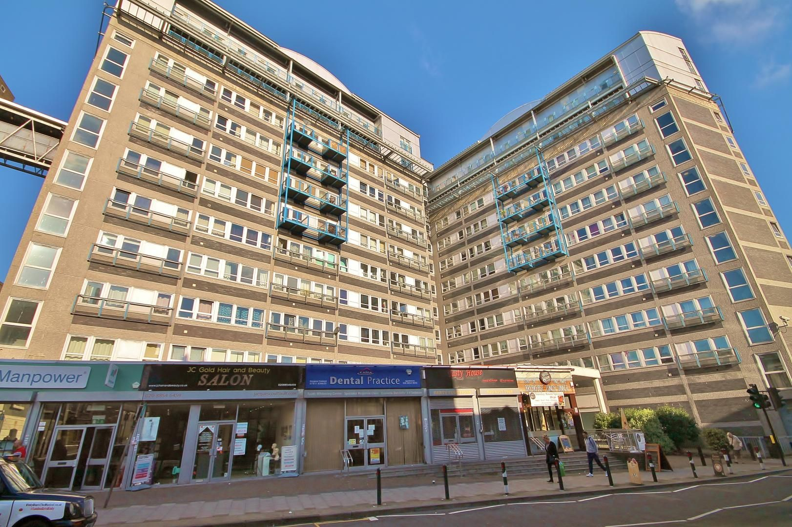1 bed flat for sale in Vista Building, Calderwood Street, SE18