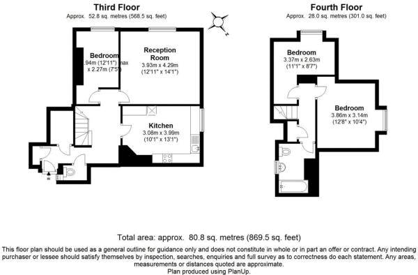 3 bed flat for sale in Arethusa House, Cahir Street - Property Floorplan