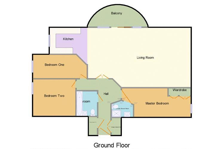 3 bed flat to rent in Wards Wharf Approach - Property Floorplan