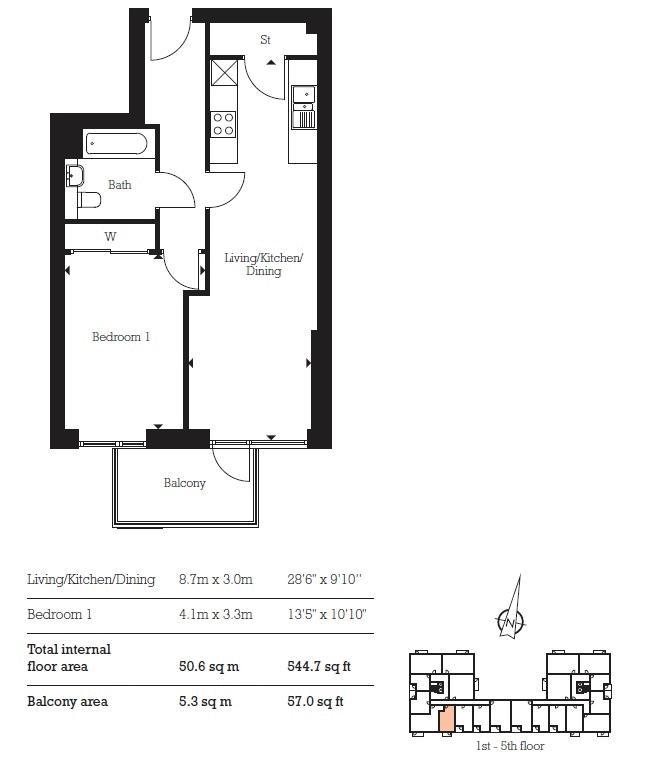 for sale in Aberfeldy Village - Property Floorplan