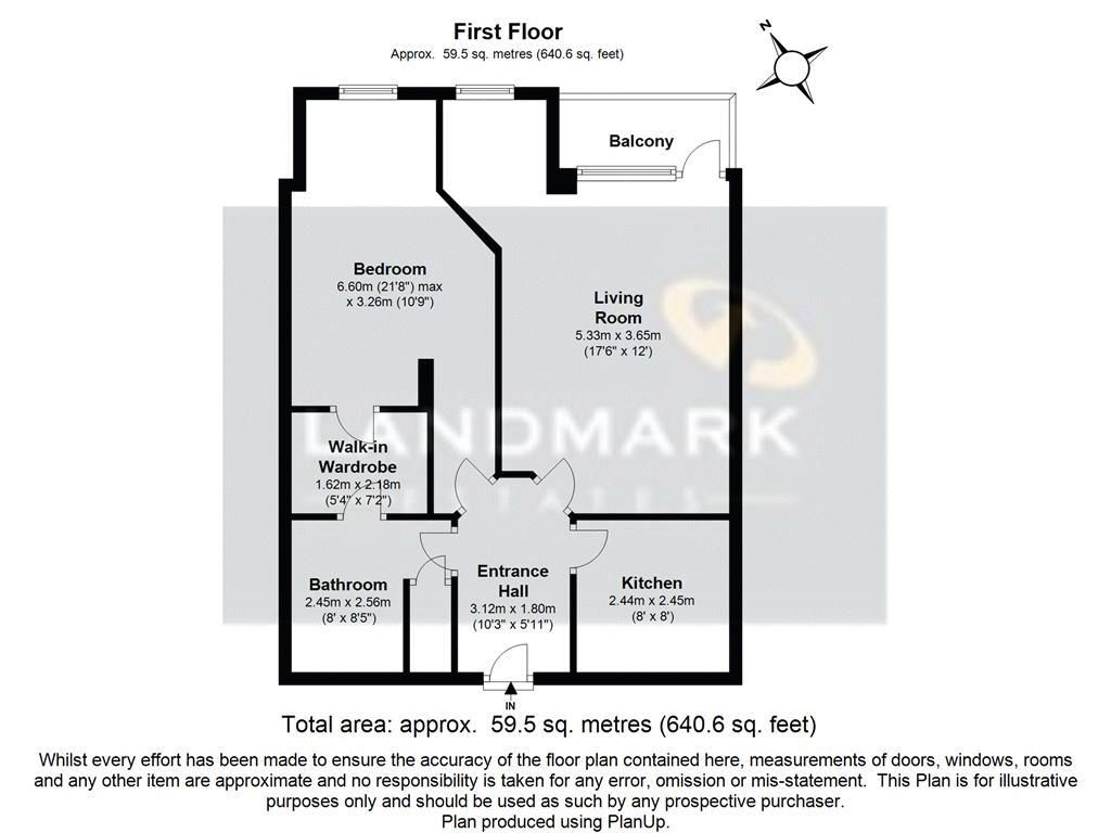 1 bed flat for sale in Burrells Wharf Square - Property Floorplan