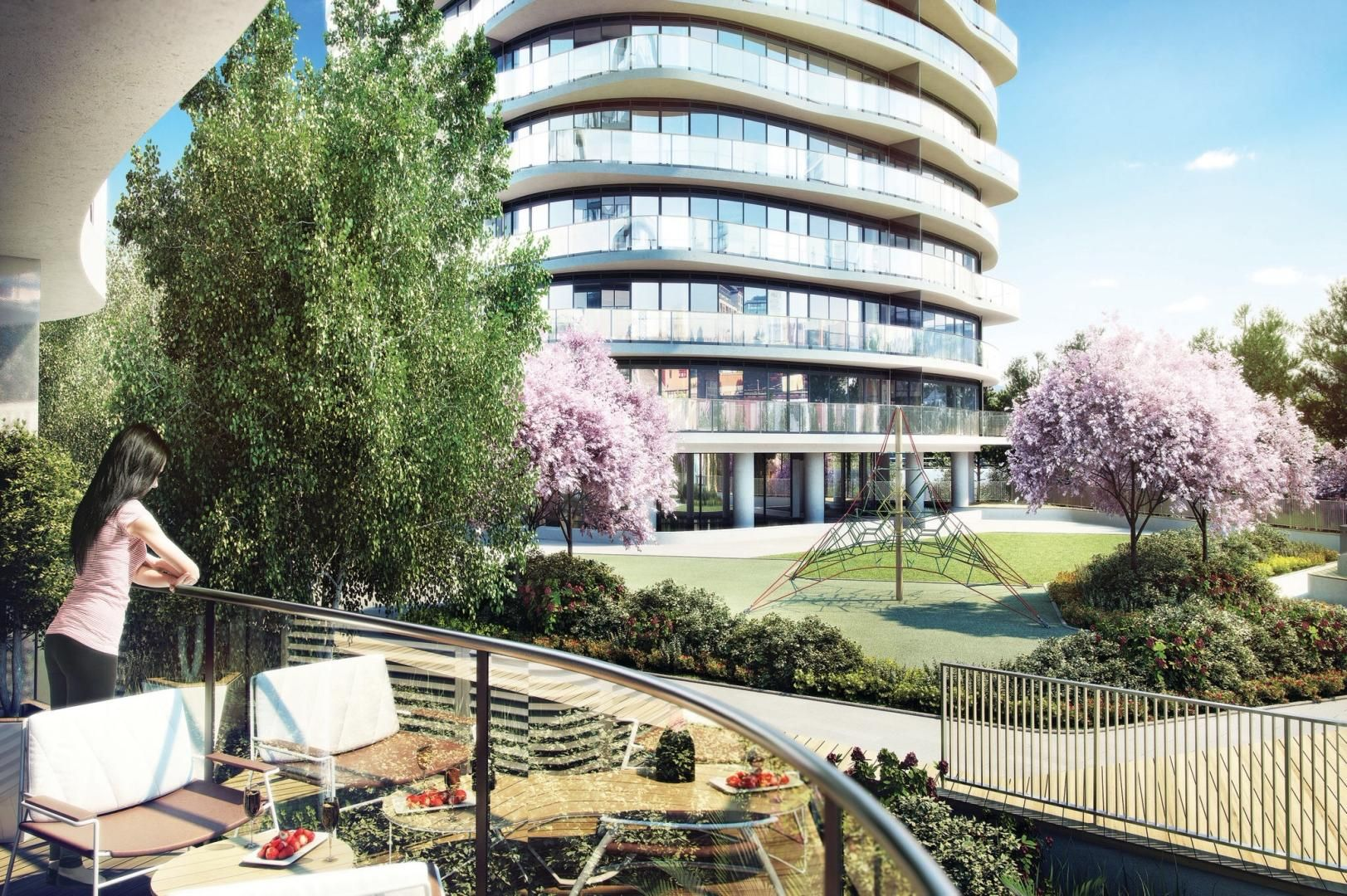 1 bed flat for sale in East Tower Hoola  - Property Image 1