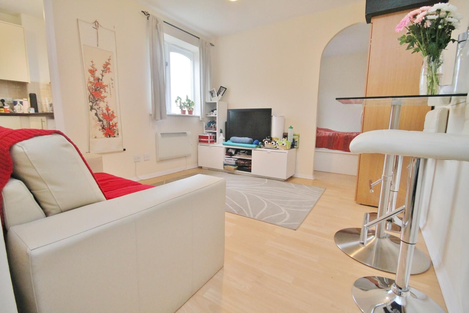 1 bed flat for sale in Telegraph Place, E14