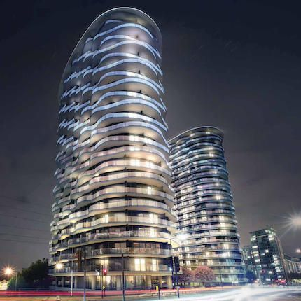 1 bed flat for sale in Hoola Tower East, E16