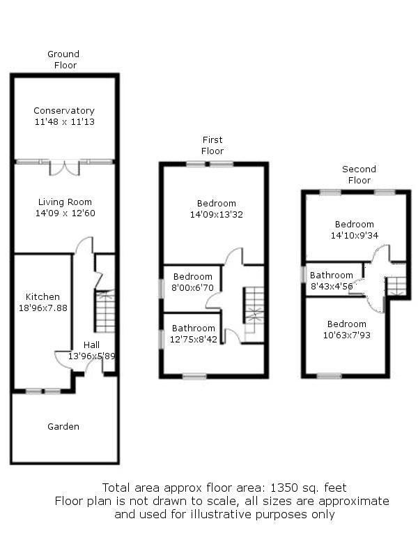 4 bed house for sale in Rainbow Avenue - Property Floorplan