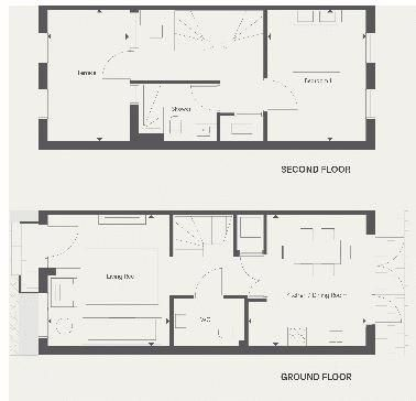 2 bed house for sale in Dock Road - Property Floorplan