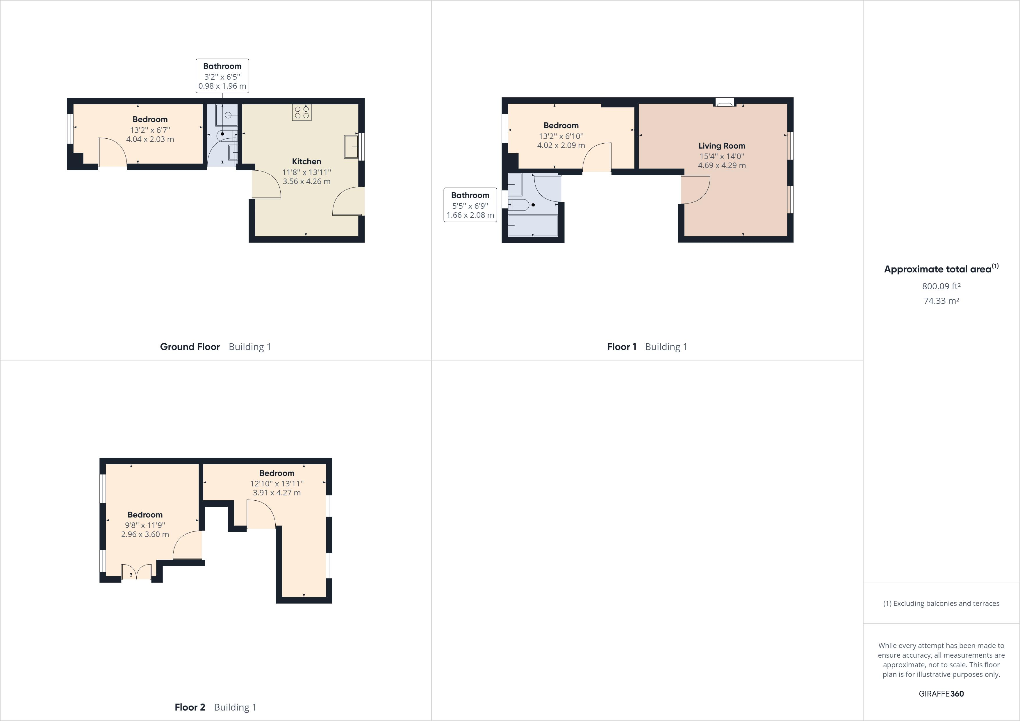 4 bed house for sale in Diana Road - Property Floorplan