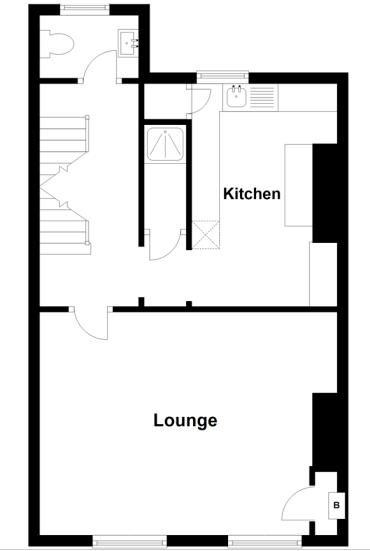 2 bed flat to rent in St. Marys Road - Property Floorplan