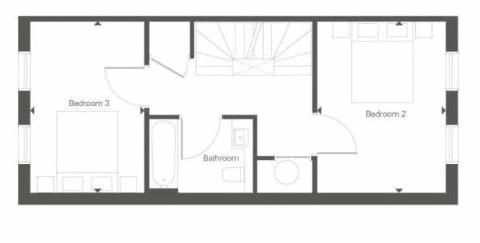 3 bed house for sale in Dock Road - Property Floorplan