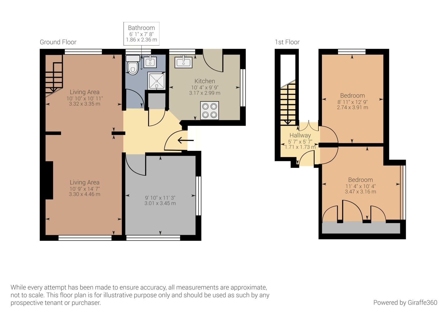 3 bed house for sale in Sharfleet Drive - Property Floorplan