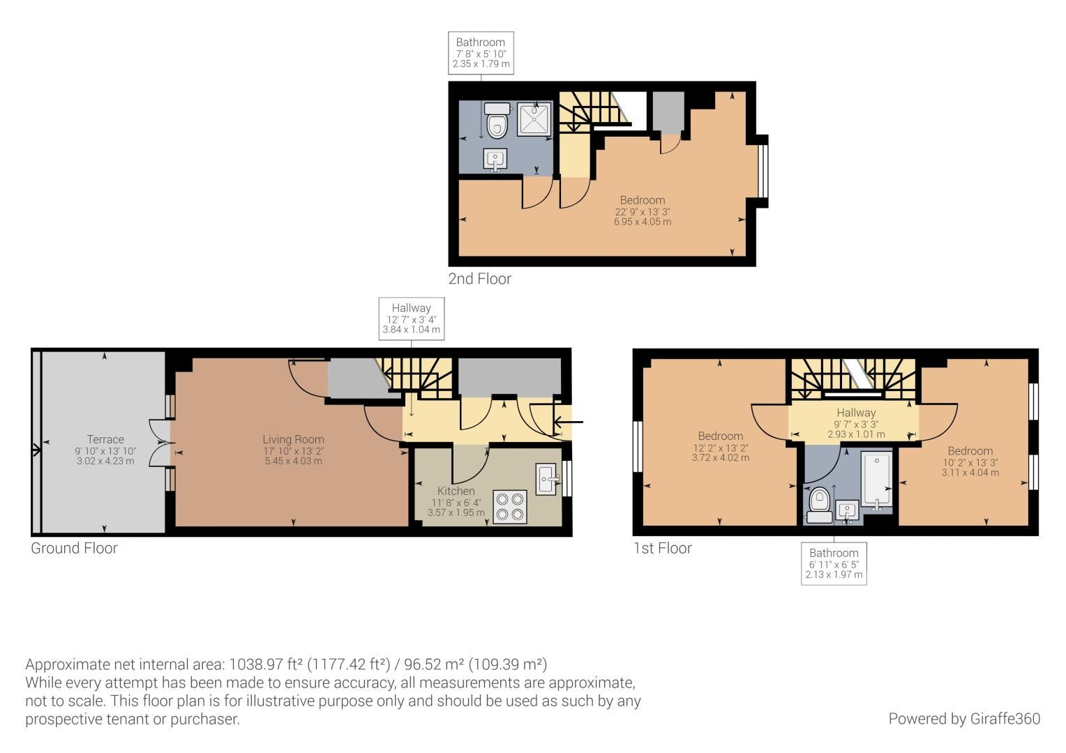 3 bed house for sale in Sanctus Court - Property Floorplan