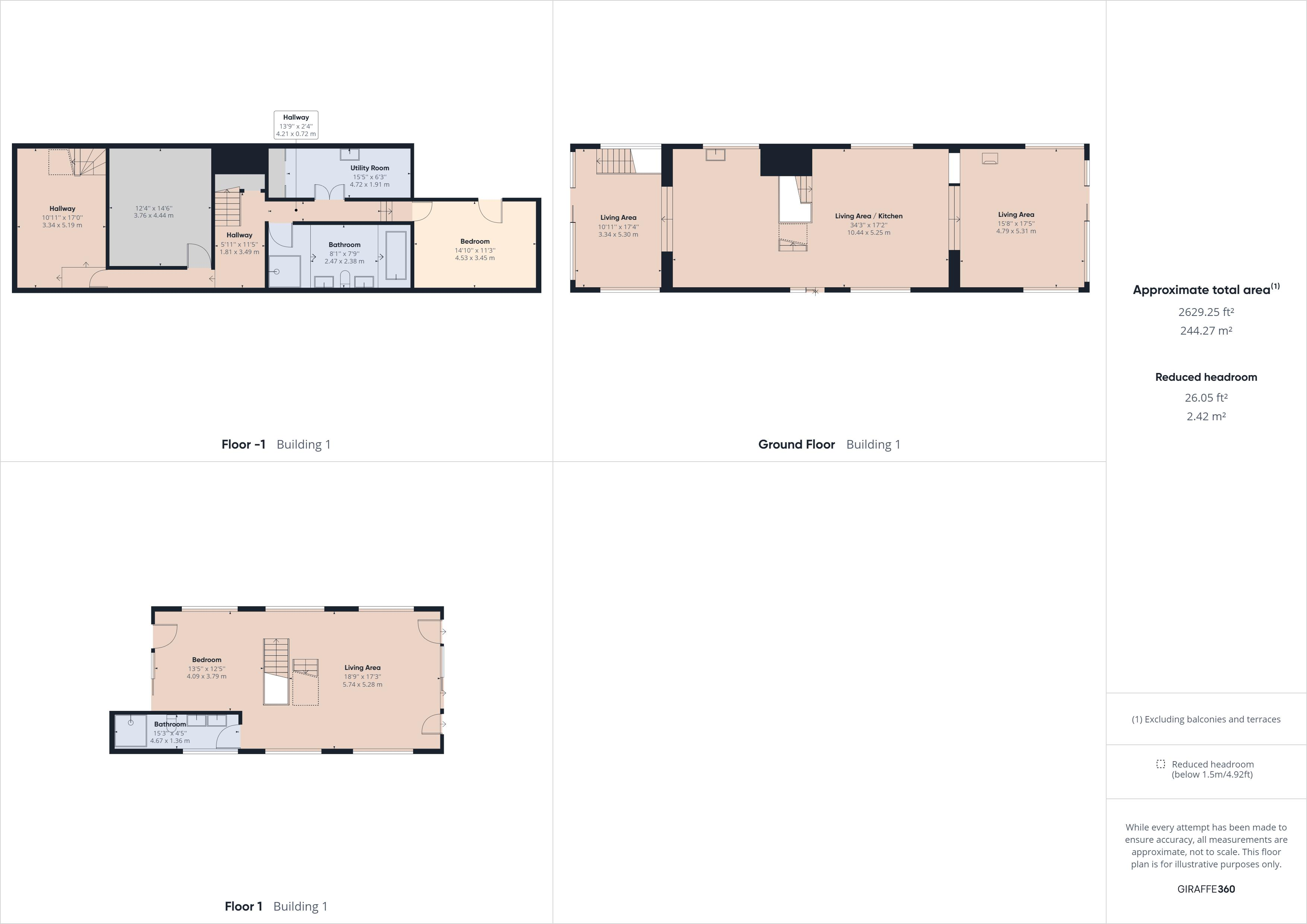 4 bed house boat for sale in PORT WERBURGH RESIDENTIAL MARINA, - Property Floorplan