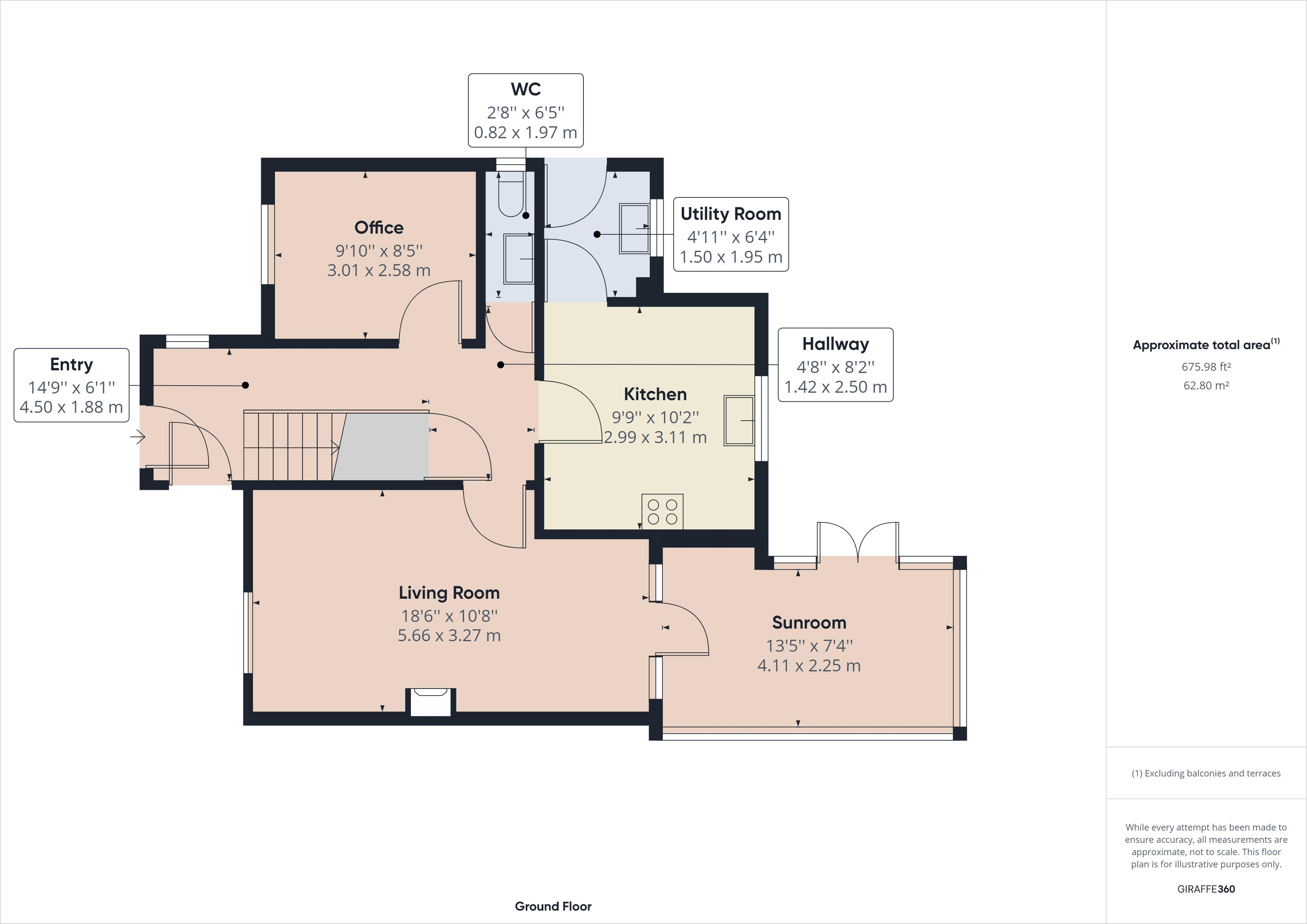 3 bed house for sale in Haven Way - Property Floorplan