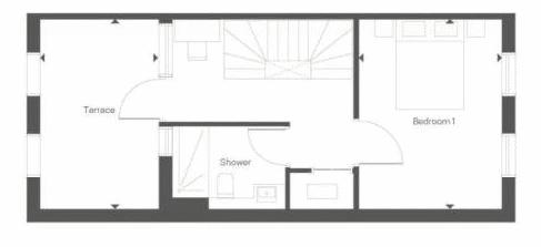 3 bed house for sale in Barracks Hill - Property Floorplan