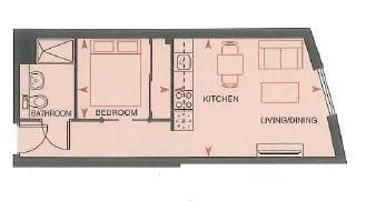 1 bed flat for sale in Dock Head Road - Property Floorplan