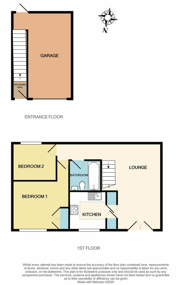 2 bed Flat for sale on Gittisham Close, Barton Grange - Property Floorplan