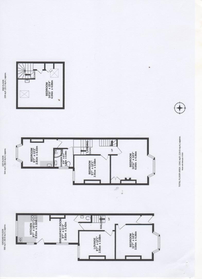 5 bed house for sale in Barrack Road, St Leonards, Exeter - Property Floorplan