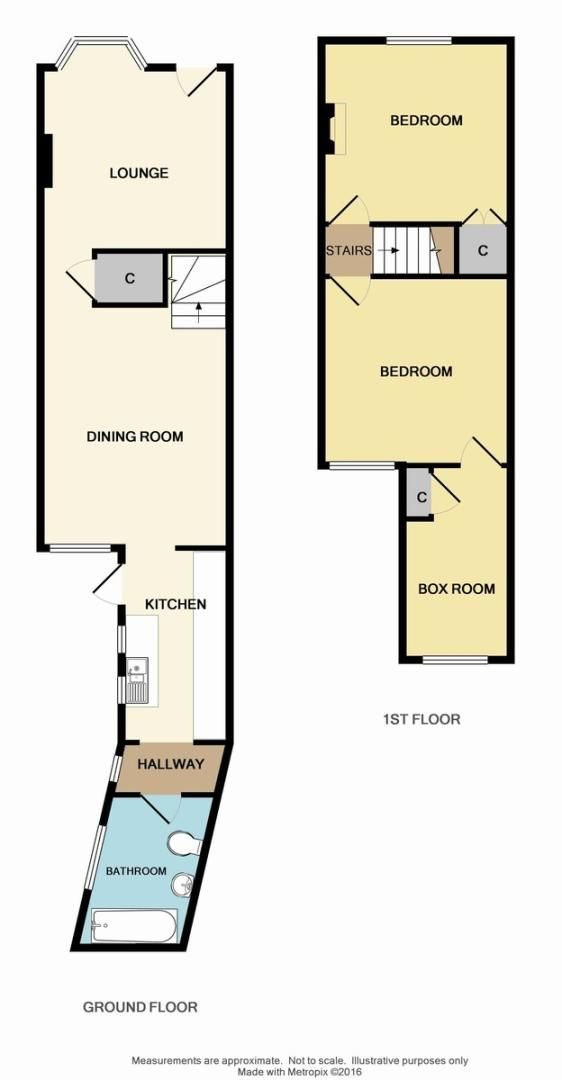 3 bed house for sale in Sussex Road, Sidcup, DA14 - Property Floorplan