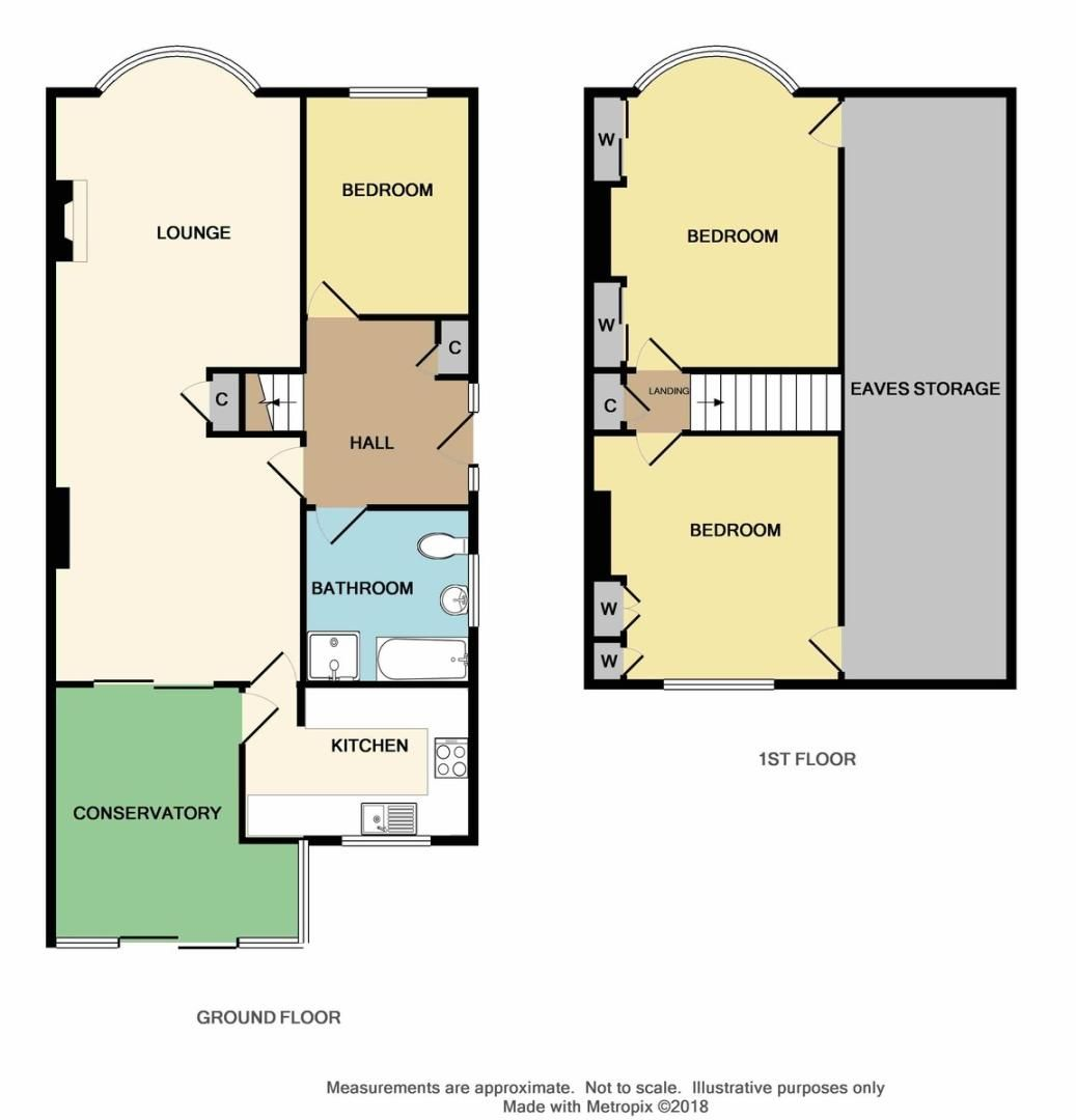 3 bed house for sale in Montrose Avenue, Sidcup, DA15 - Property Floorplan