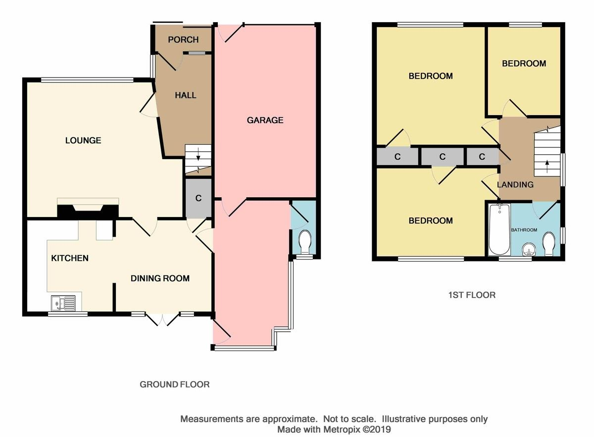 3 bed house for sale in Maiden Erlegh Avenue, Bexley, DA5 - Property Floorplan