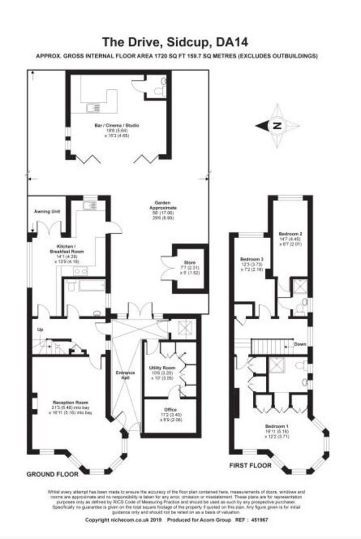 4 bed house for sale in The Drive, Sidcup, DA14 - Property Floorplan