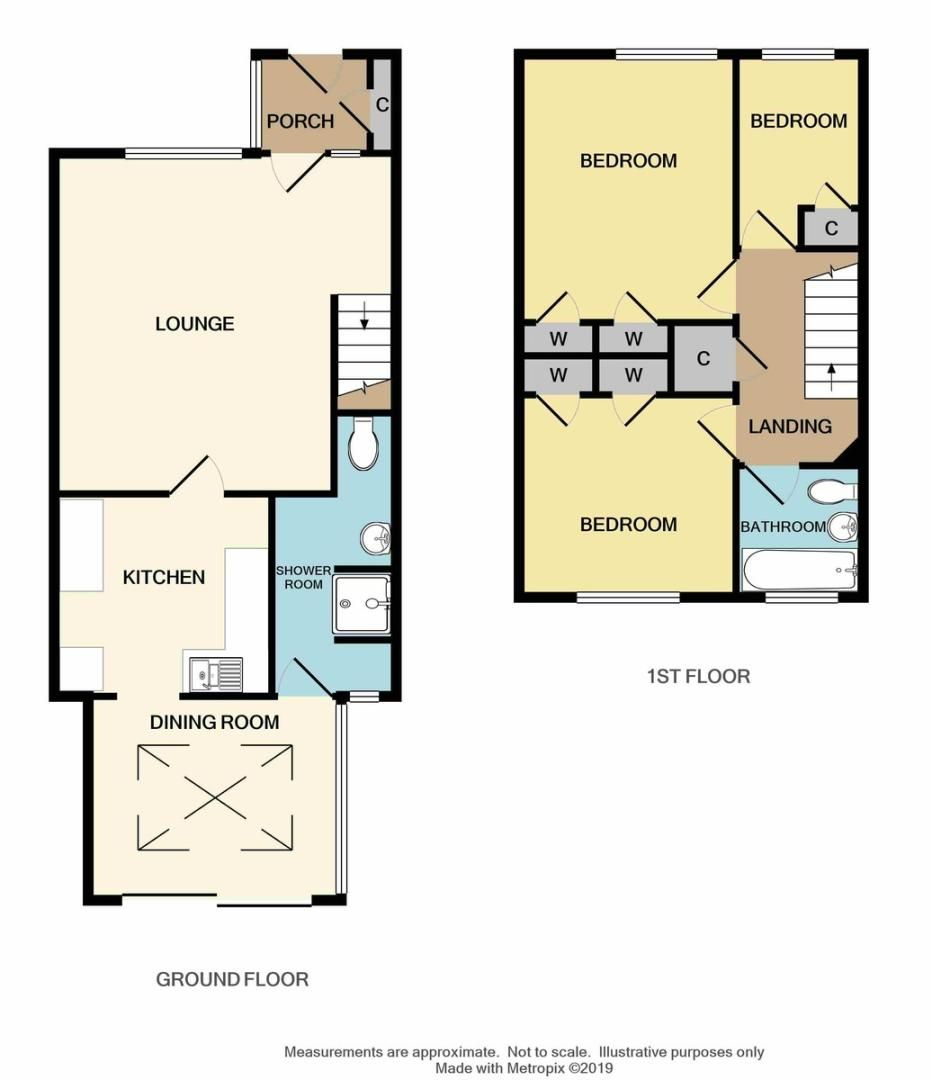 3 bed house for sale in Langford Place, Sidcup, DA14 - Property Floorplan